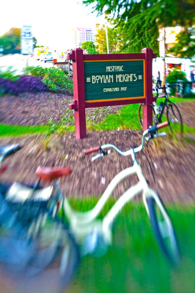 Photo of bike Boylan Heights Neighborhood Raleigh