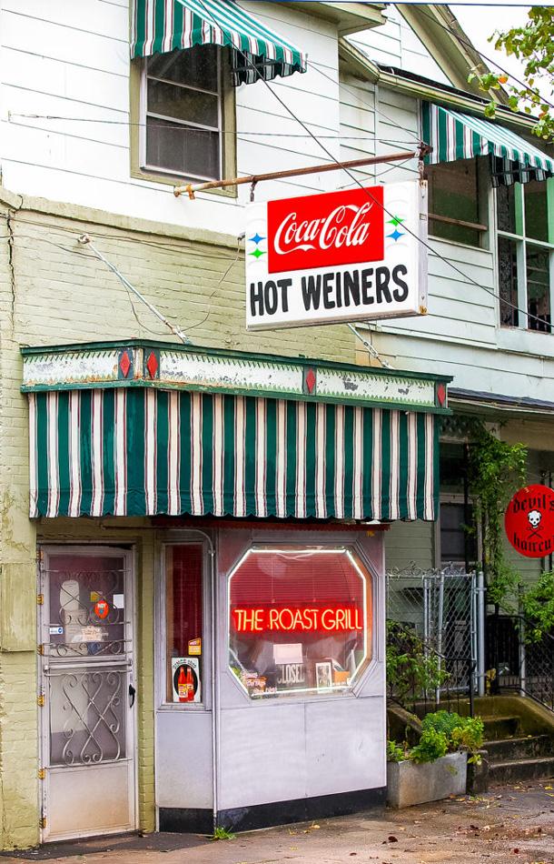 Hot Weiners, hotdogs, Raleigh, NC Photo by Willa Stein