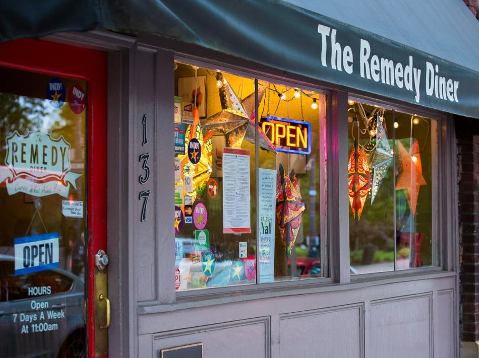 The original Remedy Diner, Raleigh, NC Willa Stein Photo
