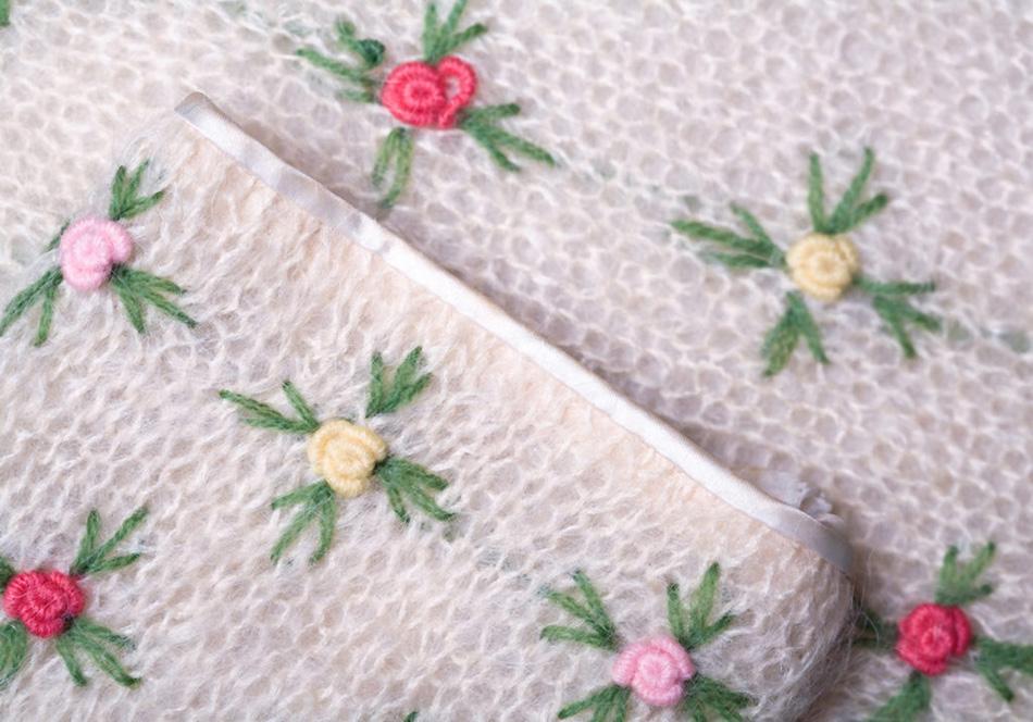 vintage Sweater photo for textile show. Willa Stein