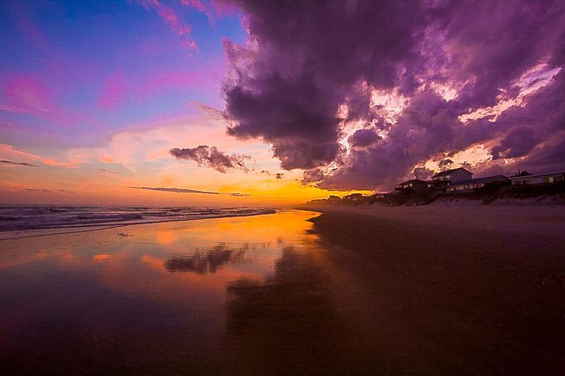 Sunset Carolina Beach, NC Willa Stein Photo