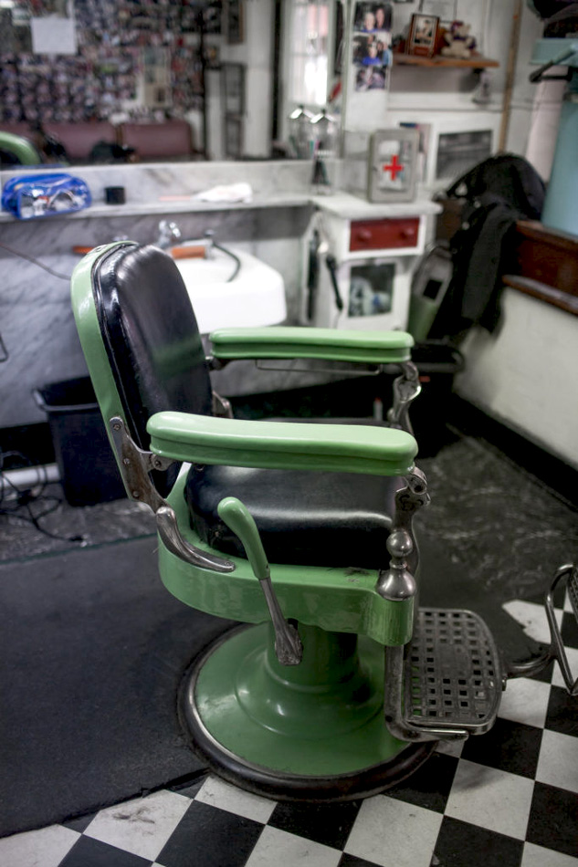 Mount Airy NC Floyds barber chair